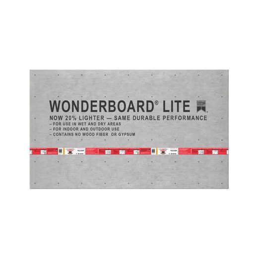 Cement Board & Tape