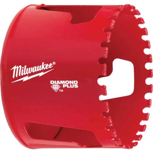 Milwaukee Diamond Plus 2-1/2 In. Diamond Grit Hole Saw