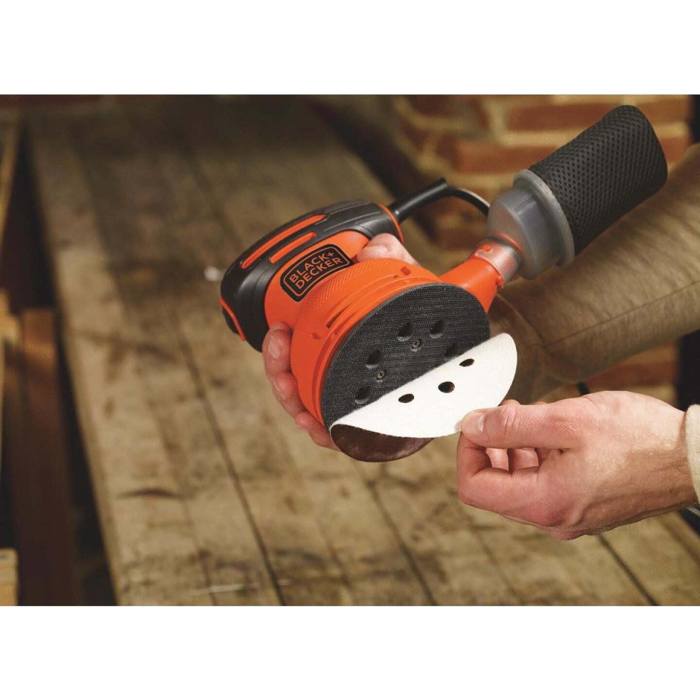Black & Decker 5 In. 2.0A Finish Sander Image 5