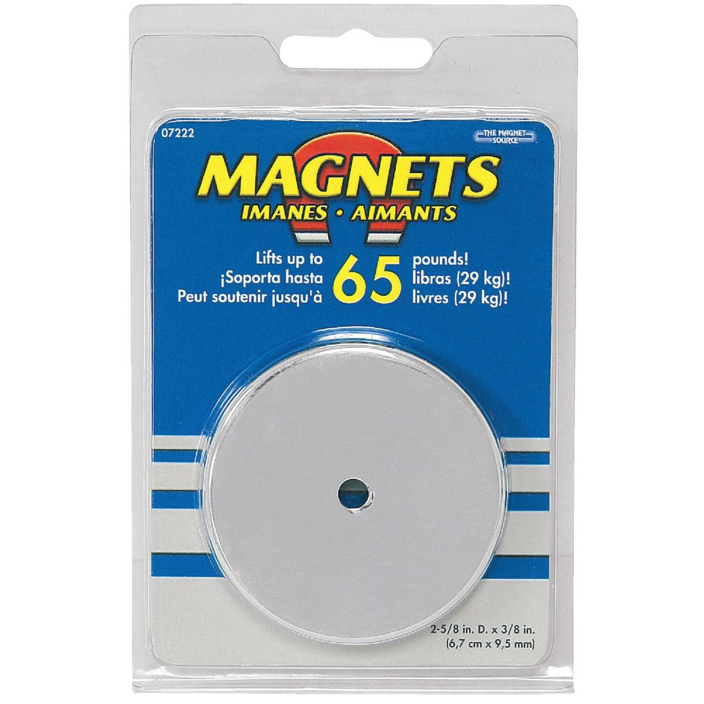 Master Magnetics 2-5/8 in. 65 Lb. Magnetic Base Image 2