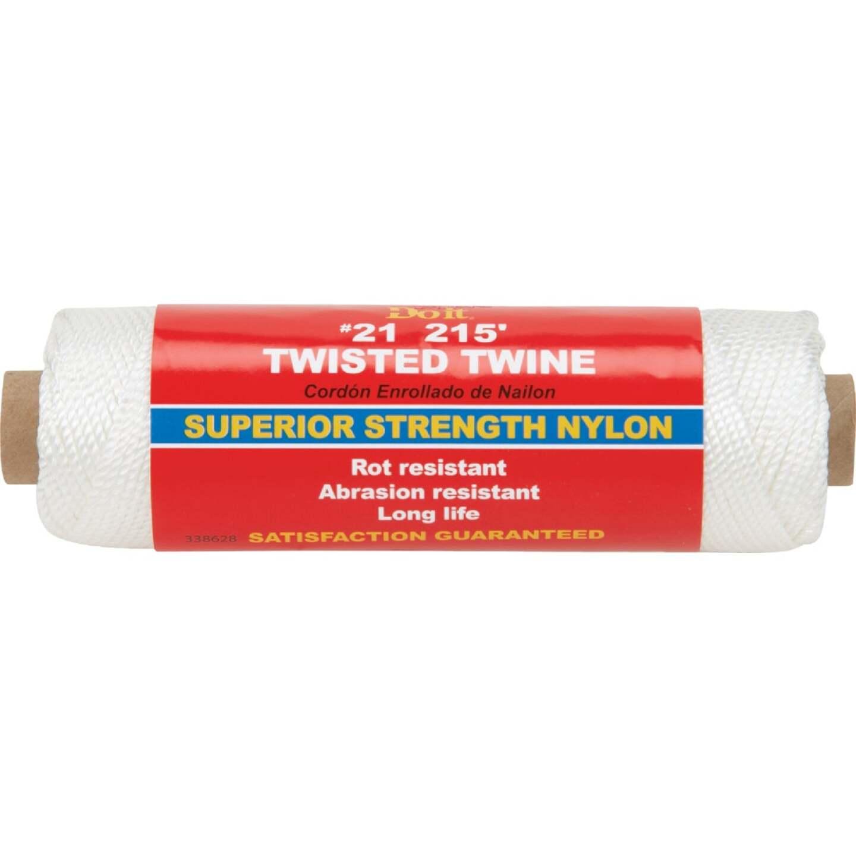 Do it #21 x 215 Ft. White Nylon Twisted Twine Image 1