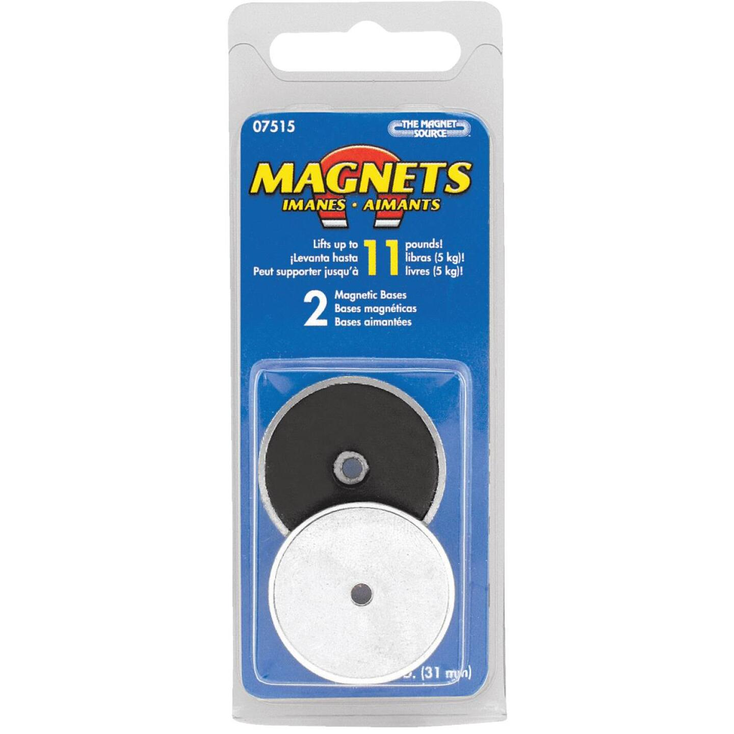 Master Magnetics 1-3/16 in. 4 Lb. Magnetic Base Image 2