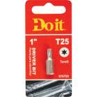 Do it T-25 TORX 1 In. Insert Screwdriver Bit Image 1