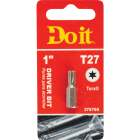 Do it T-27 TORX 1 In. Insert Screwdriver Bit Image 1