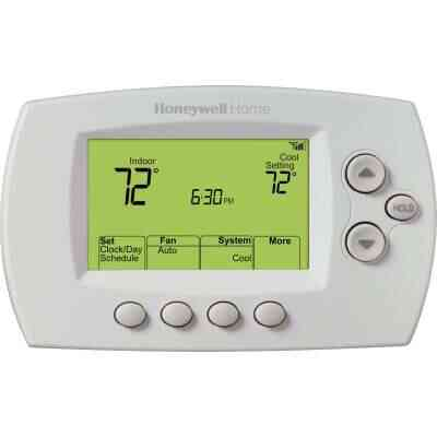 Honeywell Home 7-Day Programmable White Digital Thermostat