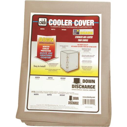 Dial 40 In. W x 40 In. D x 46 In. H Polyester Evaporative Cooler Cover, Down Discharge