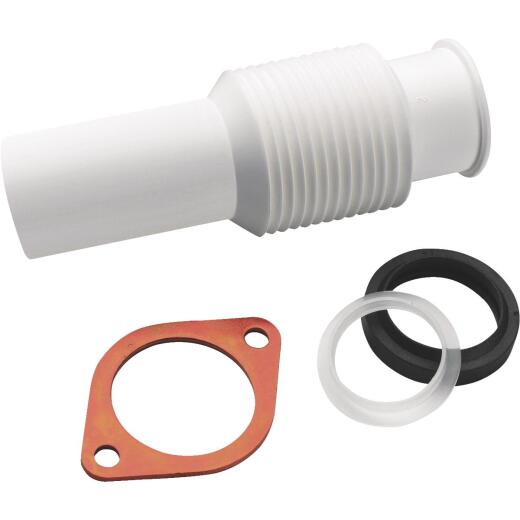 Insinkerator White Flexible Disposer Discharge Tube