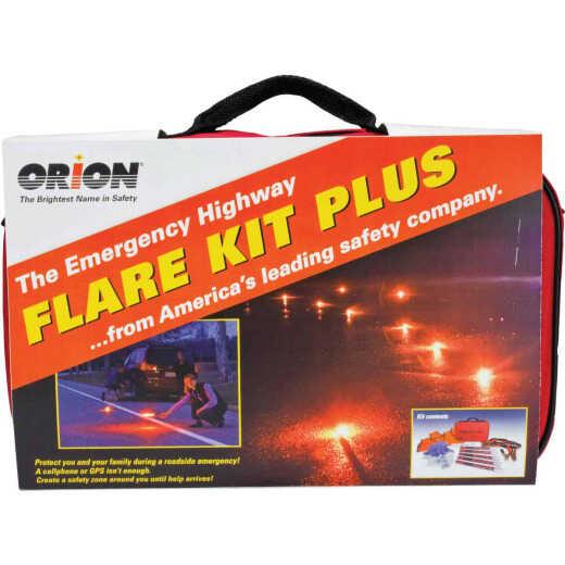 Orion Flare Kit Plus Emergency Road Kit (19-Piece)