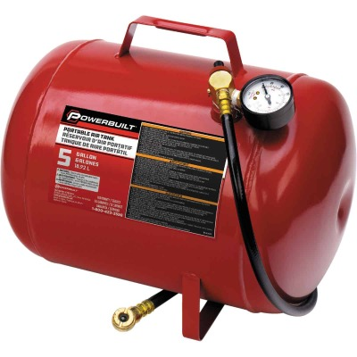 Powerbuilt 5 Gallon Portable Shop Air Tank
