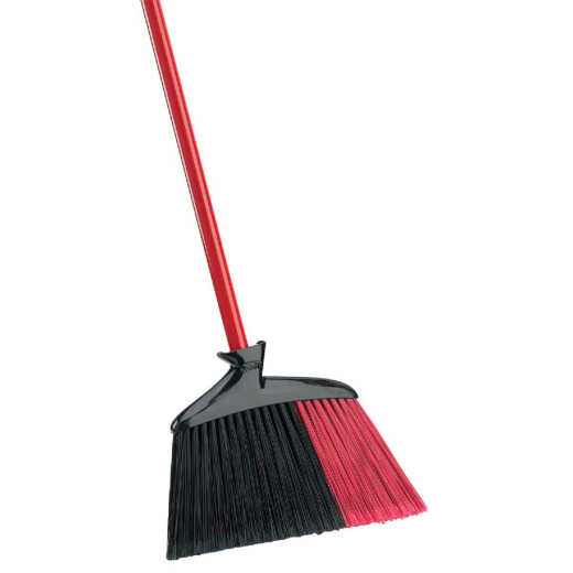 Libman 13 In. W. x 49 In. L. Steel Handle Angle Household Broom