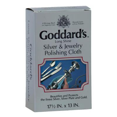 Goddard's Silver Polishing Cloth