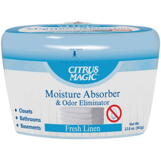 Citrus Magic 12 Oz. Fresh Linen Moisture Absorber & Remover