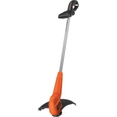 Black & Decker 13 In. 4.4-Amp Straight Shaft Corded Electric String Trimmer Edger