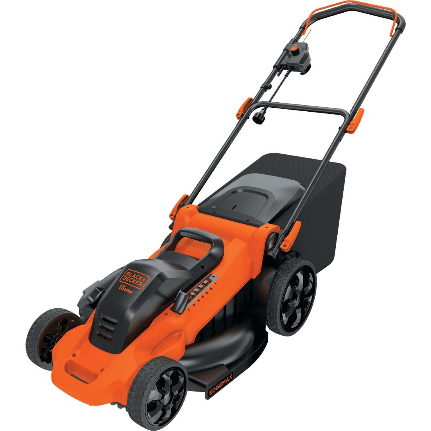 Black & Decker 20 In. 13A Push Electric Lawn Mower Image 8