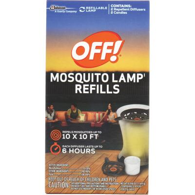 OFF! 6 Hr. Lamp Mosquito Repellent Refill (2-Pack)