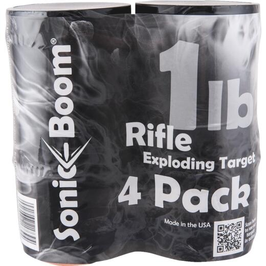 Sonic Boom Rifle Exploding Target (4-Pack)