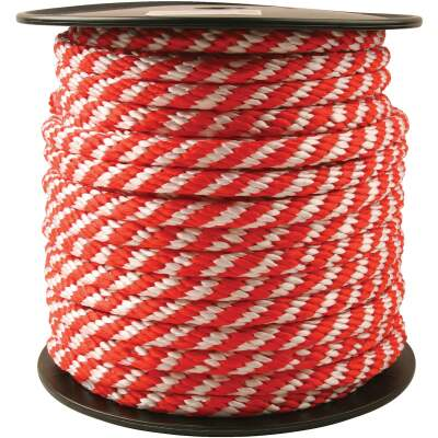 Do it 5/8 In. x 150 Ft. Red & White Derby Polypropylene Rope