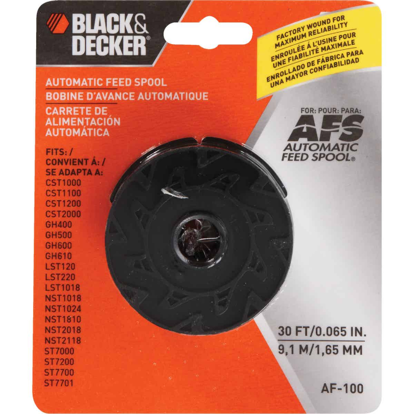 Black & Decker GrassHog 0.065 In. x 30 Ft. Trimmer Line Spool Image 2