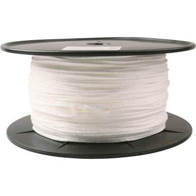 Do it 1/8 In. x 1000 Ft. White Braided Nylon Rope