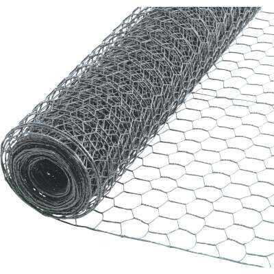 1/2 In. x 36 In. H. x 25 Ft. L. Hexagonal Wire Poultry Netting