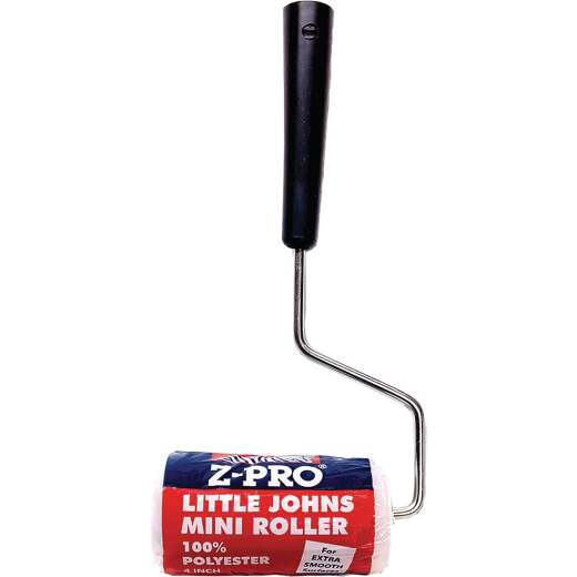 Premier Z-Pro 4 In. x 1/4 In. Smooth Paint Roller Cover & Frame