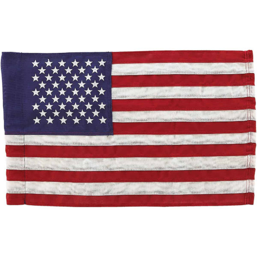 Valley Forge 1 Ft. x 1.5 Ft. Cotton Garden American Flag