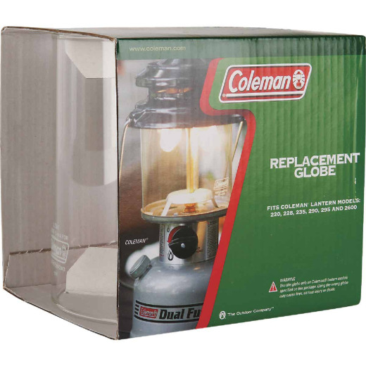Coleman Leisure Line 3-1/8 In. H. x 3 In. Dia. Tapered Lantern Globe